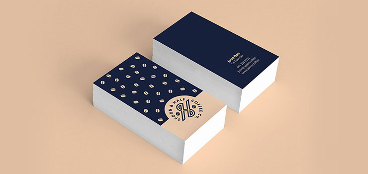 Coffee Shop Business Card Design South Africa