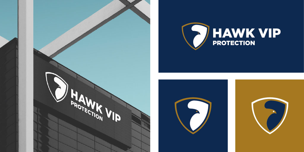 VIP Protection and Security Services Company Logo Design South Africa